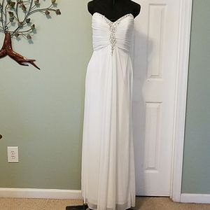 One By Eight Evening Gown (seam repair)
